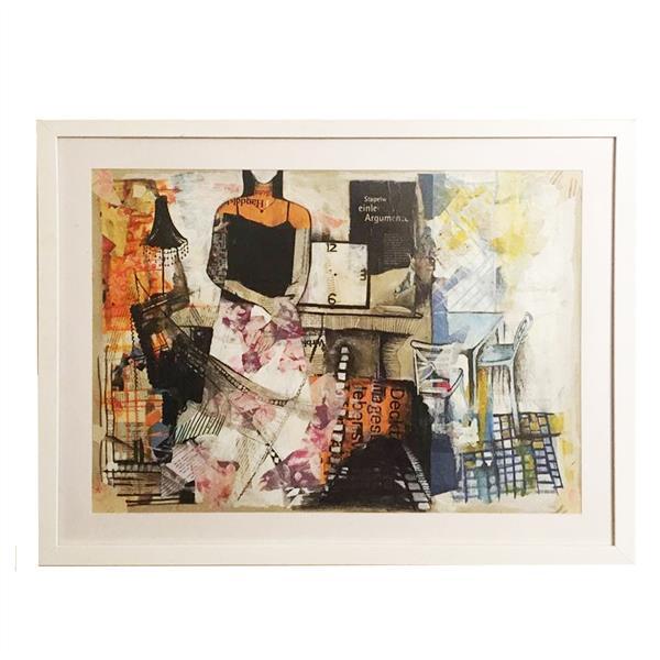 هنر نقاشی و گرافیک محفل نقاشی و گرافیک ف شیری #کلاژ #مقوا #۱۳۹۸ #زندگی روزمره #ف-شیری