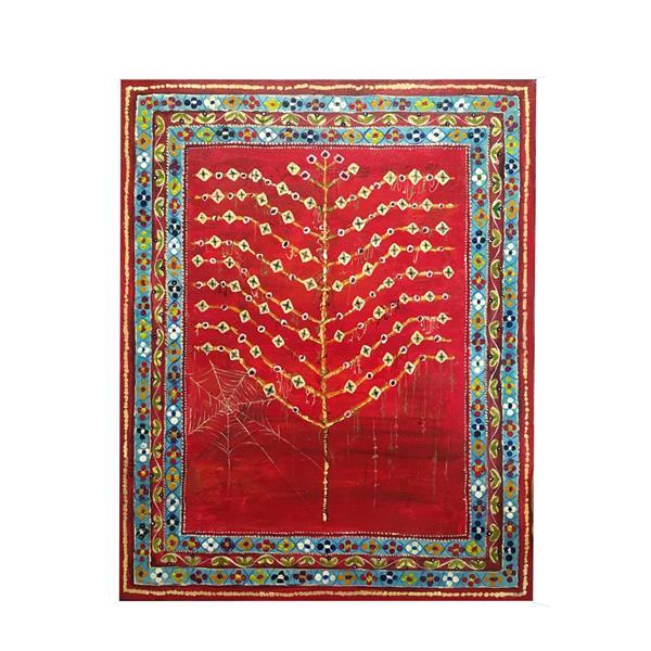 هنر نقاشی و گرافیک محفل نقاشی و گرافیک ف شیری #کلاژ #مقوا #۱۳۹۹ #نمای فرش #ف- شیری