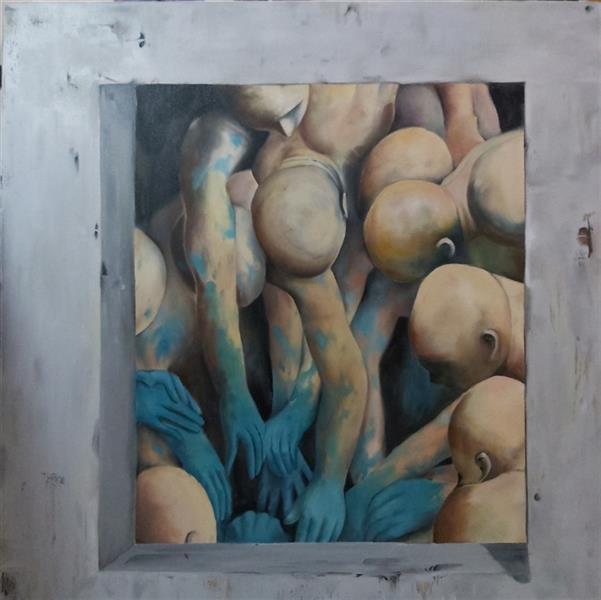 هنر نقاشی و گرافیک محفل نقاشی و گرافیک Ana jafarinia آزادی  رنگ روغن