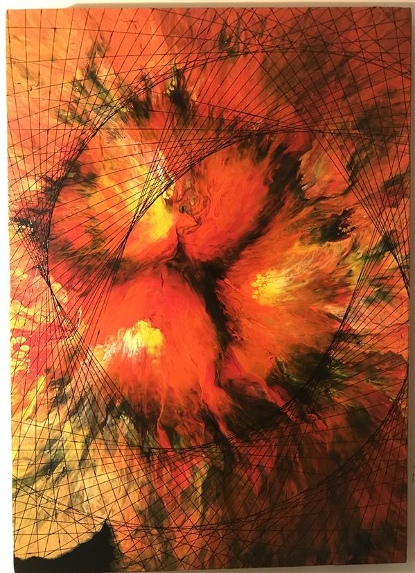 هنر نقاشی و گرافیک محفل نقاشی و گرافیک دانیال راد نقاشى مدرن با رنگ اكريليك روى بوم نام اثر ؛ دروازه جهنم اثر ؛ دانيال راد #جادوى_رنگها #نقاشى مدرن # رنگ_اكريليك #دكوراسيون_مدرن