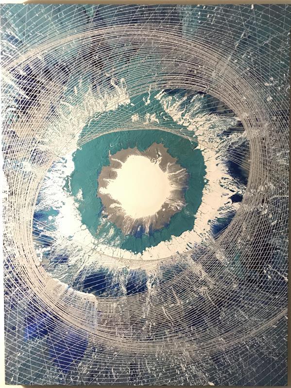 هنر نقاشی و گرافیک محفل نقاشی و گرافیک دانیال راد نقاشى مدرن با رنگ اكريليك روى بوم نام اثر ؛ كيهان خالق اثر ؛ دانيال راد #جادوى_رنگها#رنگ_اكريليك#نقاشى_مدرن#دكوراسيون_مدرن