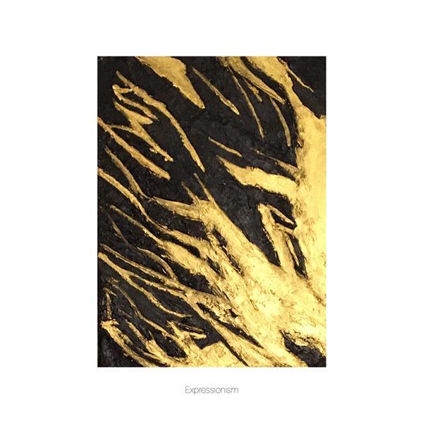 هنر نقاشی و گرافیک محفل نقاشی و گرافیک احسان عطاریان تابلو دکوراتیو  برجسته مدرن با سبک اکسپرسیونیسم رنگ استفاده شده اکرولیک و خمیر تکسچر