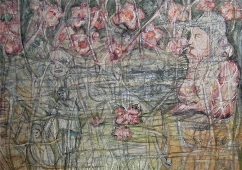 هنر نقاشی و گرافیک محفل نقاشی و گرافیک علیرضا سالاروند رنگ و روغن روی بوم 1380 هنرمند:علیرضا سالاروند