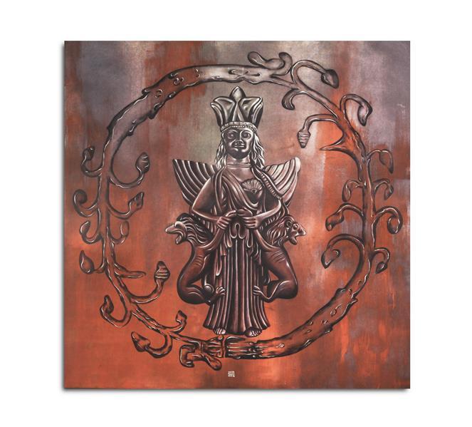 هنر نقاشی و گرافیک محفل نقاشی و گرافیک سپیده کاظمی #نقاشی#رنگ_روغن#1397#سپیده_کاظمی#ایزدبانو_آناهینا