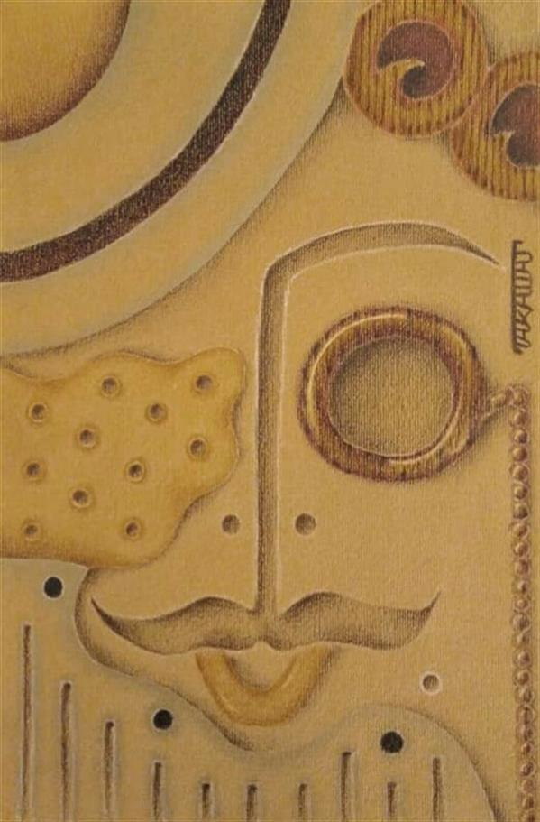 هنر نقاشی و گرافیک محفل نقاشی و گرافیک طراوت حیرتی مسیو_ تکنیک مدادرنگی روی مقوا 1400 طراوت حیرتی #کوبیسم #نقاشی_مدرن #اورجینال #سبیل #مسیو