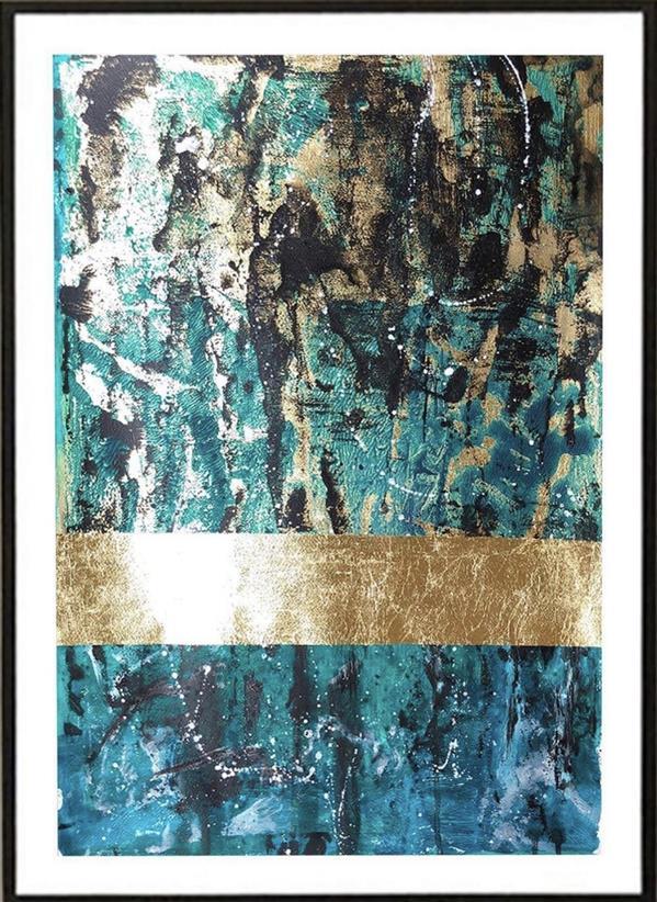 هنر نقاشی و گرافیک محفل نقاشی و گرافیک المیرا حیدری Title: green way #decorative