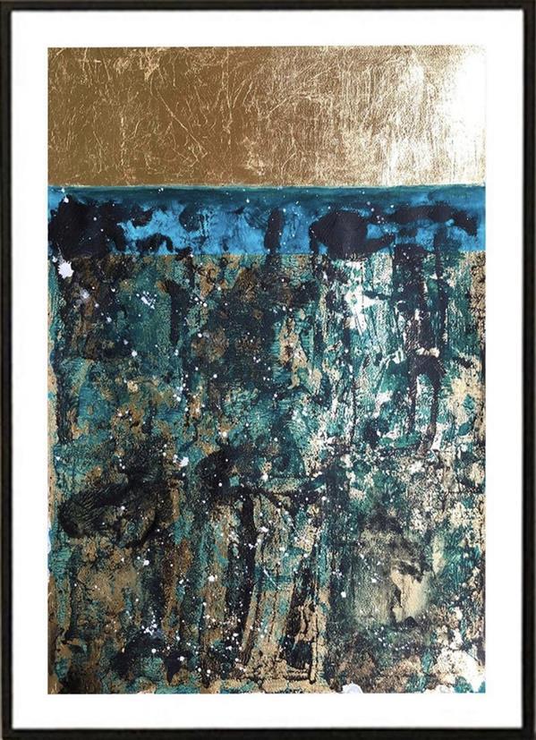 هنر نقاشی و گرافیک محفل نقاشی و گرافیک المیرا حیدری Title: green way #decorative Panel two