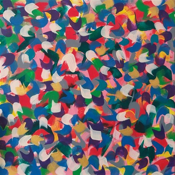 هنر نقاشی و گرافیک محفل نقاشی و گرافیک گلچهره روحانی #اکرولیک روی بوم #دنیای رنگی #گلچهره روحانی #سال۱۴۰۰