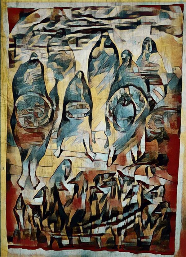 هنر نقاشی و گرافیک محفل نقاشی و گرافیک Shahramsharareh نقاشی#دیجیتال آرت#از مجموعه:سایه های متنتن#اثر شماره:۱۰۸#شهرام شراره#۱۳۹۹