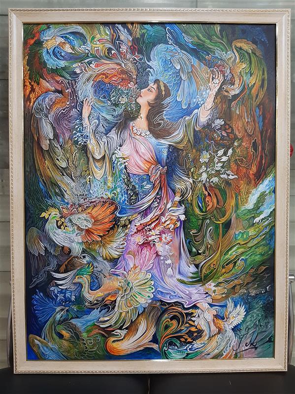 هنر نقاشی و گرافیک محفل نقاشی و گرافیک جمشید میرمحسنی نقاشی رنگ اکرلیک