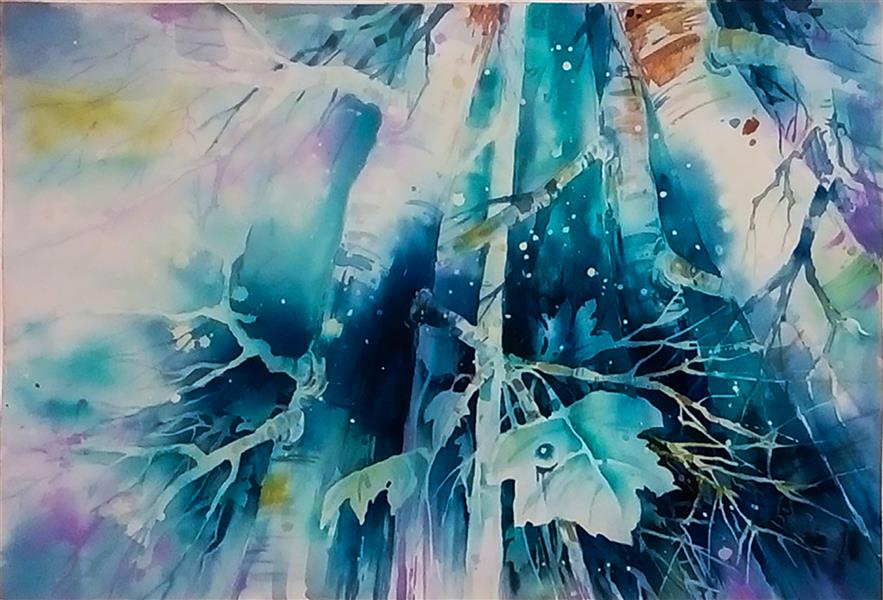 هنر نقاشی و گرافیک محفل نقاشی و گرافیک غزل کیانی نژاد #بهار#نقاشی#آبرنگ غزل کیانی نژاد- نقاشی آبرنگ با موضوع بهار سال 1399