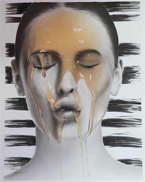 هنر نقاشی و گرافیک محفل نقاشی و گرافیک Mahsa zorofchi ابعاد ۳۵×۵۰