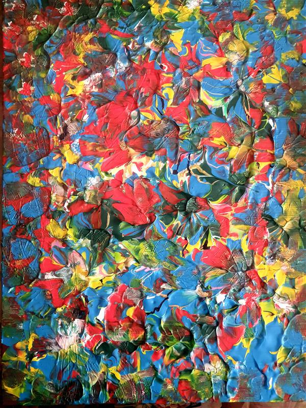 هنر نقاشی و گرافیک محفل نقاشی و گرافیک مریم واحدی آبی