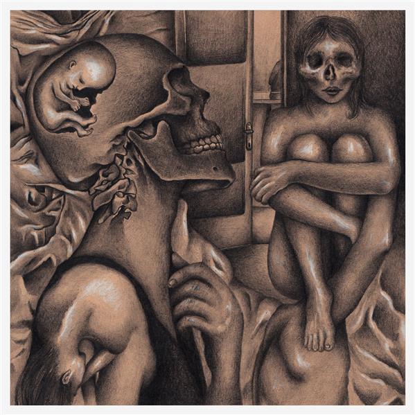 هنر نقاشی و گرافیک محفل نقاشی و گرافیک سپیده عابدی از مجموعه هفت گناه کبیره