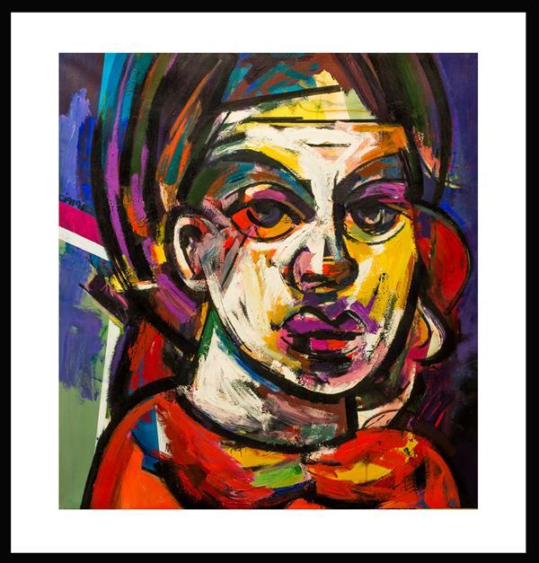 هنر نقاشی و گرافیک محفل نقاشی و گرافیک حسین نوروزی  Elyad  # متریال اکریلیک  #سال ۱۴۰۰ نام اثر ش۴ از مجموعه زن و رنگ