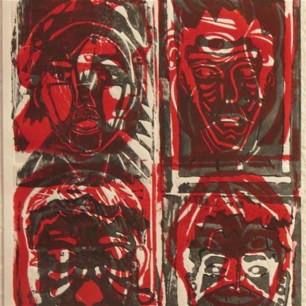 هنر نقاشی و گرافیک محفل نقاشی و گرافیک هدا زابلی نژاد چاپ دستی پرینت بر روی بوم