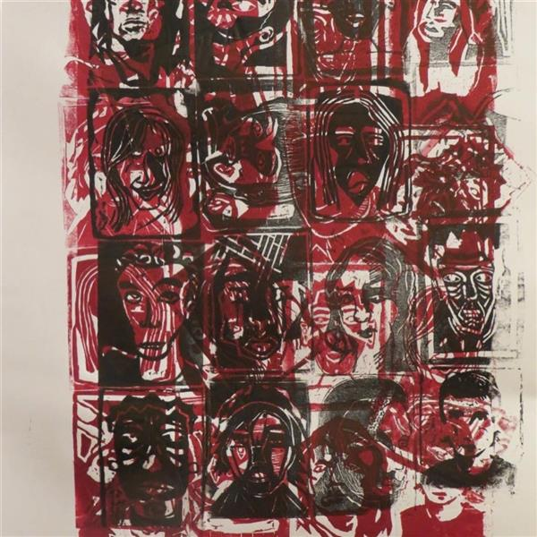 هنر نقاشی و گرافیک محفل نقاشی و گرافیک هدا زابلی نژاد چاپ دستی پرینت برروی بوم