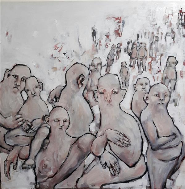 هنر نقاشی و گرافیک محفل نقاشی و گرافیک terme #اکریلیک روی #بوم ما ابتدا روی محیط تاثیر میگذاریم، سپس از آن تاثیر گرفته و با آن یکی میشویم، عقب میمانیم و احساس ترس، نادانی و گناه روزافزونی را تجربه میکنیم. اگر بپذیریم مدرنیته نیز آغاز اعتراف بشر به نادانی خویشتن بود، همواره تولید و اعتراف میکنیم، و در این میان سیب زمینی دیگری را برای جبران تربیت میکنیم. ترمه علوی