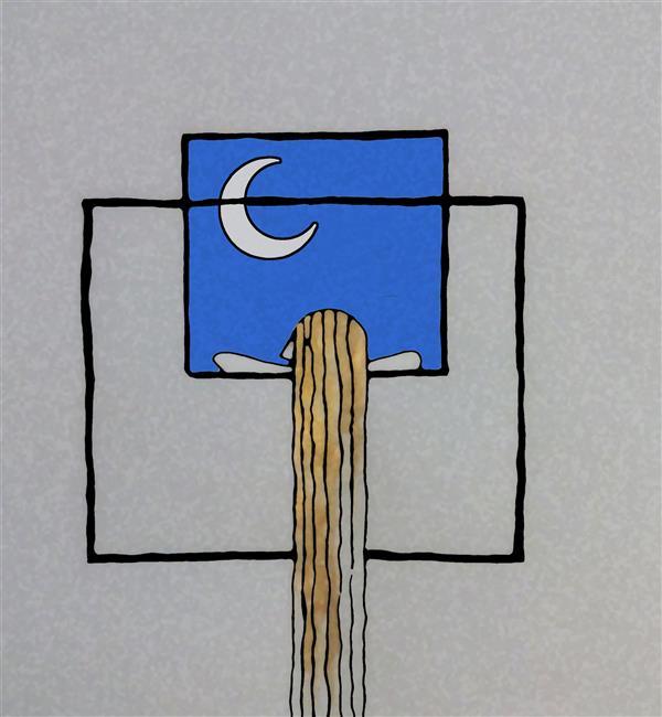 هنر نقاشی و گرافیک محفل نقاشی و گرافیک سهراب اسعدی گریه ی لیلی | طراحی دیجیتال | #اسدالله_ملک