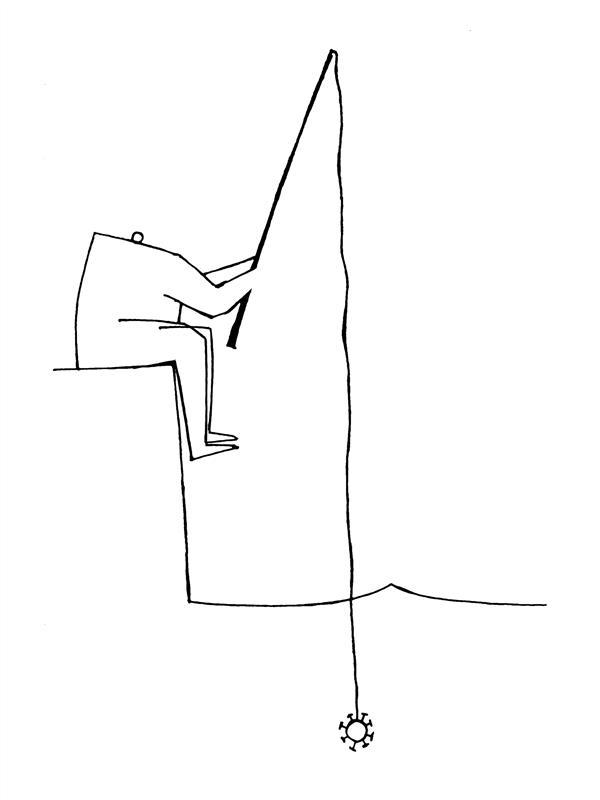 هنر نقاشی و گرافیک محفل نقاشی و گرافیک سهراب اسعدی ممکنه کرونا گرفته باشیم و ندونیم !  #کاریکاتور #کرونا #طراحی #نصیحت #ماسک_بزنیم #ماسک #کوید19 #کروناویروس #کارتون
