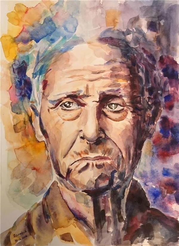 هنر نقاشی و گرافیک محفل نقاشی و گرافیک زینب آقایی  مدیوم آبرنگ، سایز 30*40،  سال 95، اثر اوریجینال