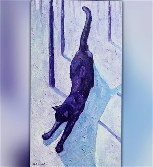 هنر نقاشی و گرافیک محفل نقاشی و گرافیک Reza karimnejad رنگ روغن روی بوم  40x80 cm