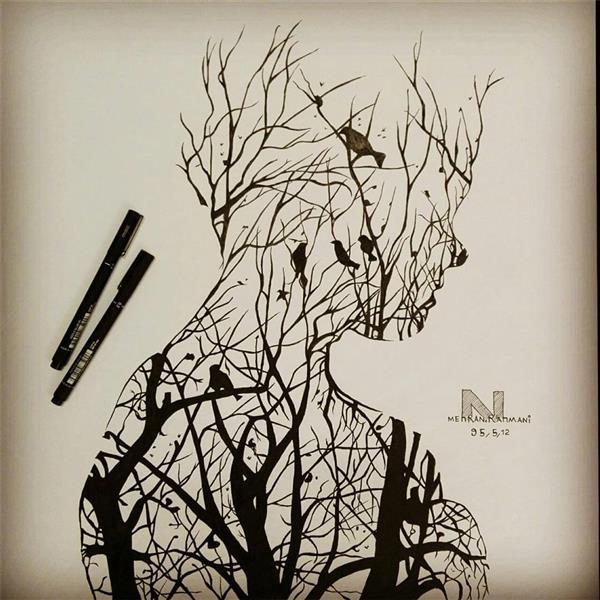 هنر نقاشی و گرافیک محفل نقاشی و گرافیک مهران رحمانی