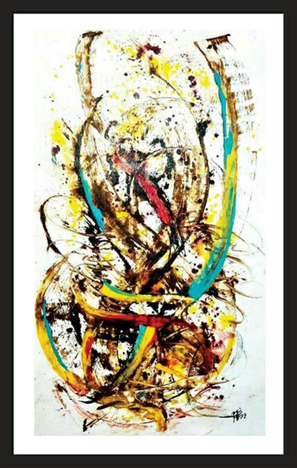 هنر نقاشی و گرافیک محفل نقاشی و گرافیک باربدیزدانی از مجموعه موازات جنون