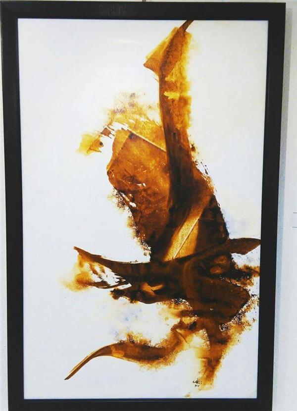 هنر نقاشی و گرافیک محفل نقاشی و گرافیک باربدیزدانی اکرولیک  روی بوم  .  اندازه  95+150