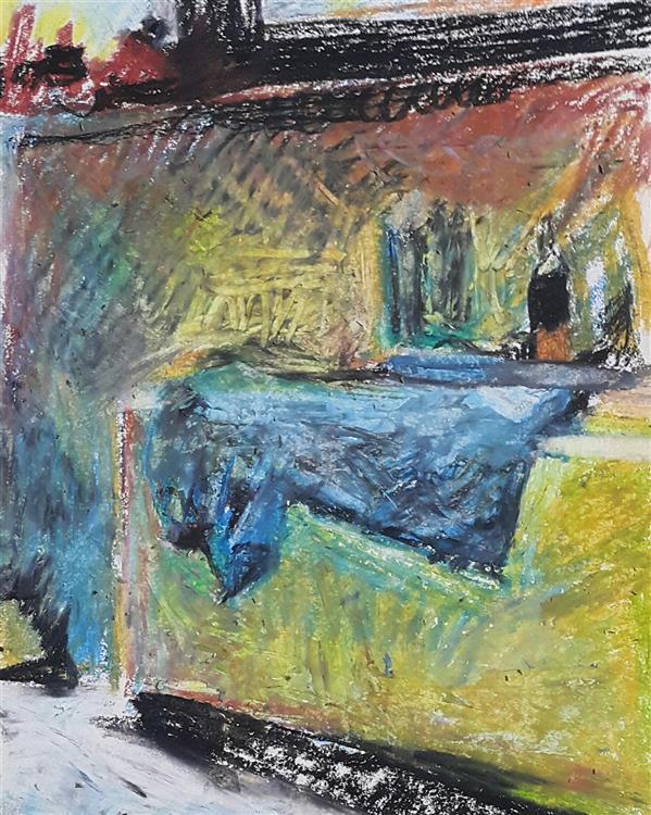 هنر نقاشی و گرافیک محفل نقاشی و گرافیک Soheil Azhary پاستلروغنی ، ۱۳۹۹ ، رادیاتور ، سهیل اظهری