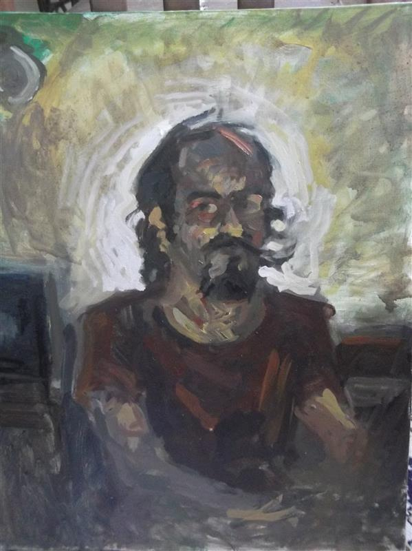 هنر نقاشی و گرافیک محفل نقاشی و گرافیک Soheil Azhary رنگ و روغن روی بوم -- مطالعه نور و سایه شمع و چراغ مطالعه -- برای فروش در اینجا نیست.