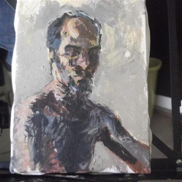 هنر نقاشی و گرافیک محفل نقاشی و گرافیک Soheil Azhary تلاش در تصویر کردن  چهره