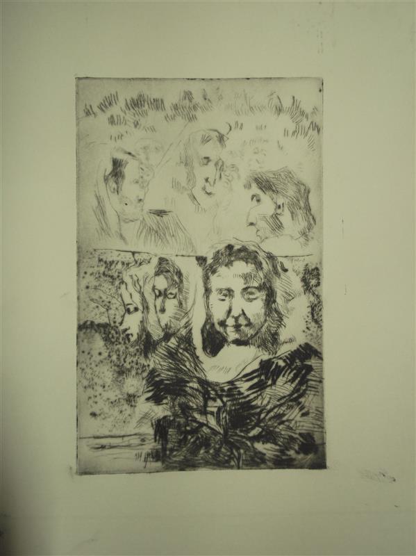 هنر نقاشی و گرافیک محفل نقاشی و گرافیک Soheil Azhary تکنیک : درای پوینت (چاپ بصورت حکاکی مستقیم روی فلز) -- تیراژ :حدودا ۳۰ -- ابعاد : 12*۱۹ -- عنوان: بدون عنوان.