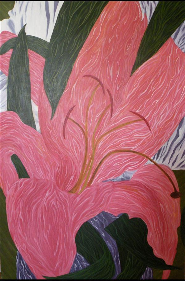 هنر نقاشی و گرافیک محفل نقاشی و گرافیک Vida ghavibazou Acrylic 100*150