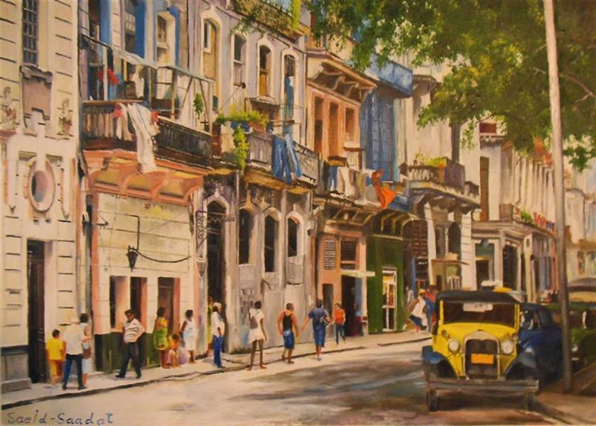 هنر نقاشی و گرافیک محفل نقاشی و گرافیک saeid saadat #کوبائی ها - رنگ و روغن - 70 * 50 روی بوم عمیق