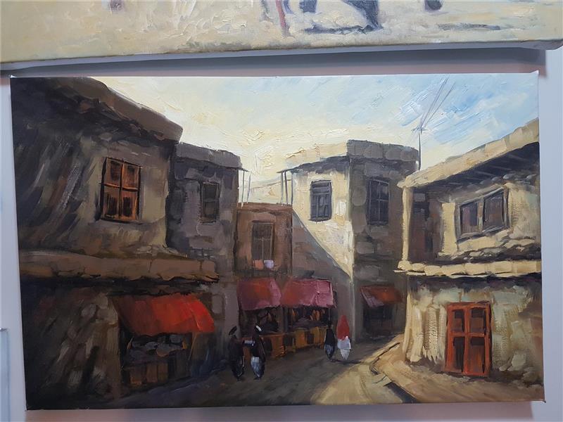هنر نقاشی و گرافیک محفل نقاشی و گرافیک Yousuf ahmadzai  رنگ روغن سایز 40/60