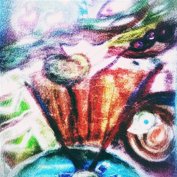 هنر نقاشی و گرافیک محفل نقاشی و گرافیک ghazal-heidari #نقاشی با #اکرلیک