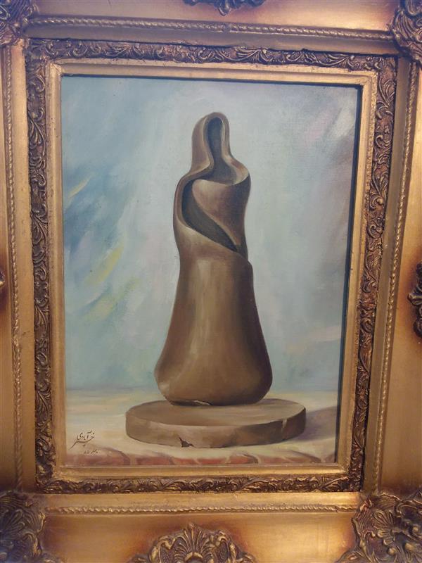 هنر نقاشی و گرافیک محفل نقاشی و گرافیک حسین خیرآبادی طبیعت بیجان#رنگ وروغن# مجسمه سازی#نقش برجسته#