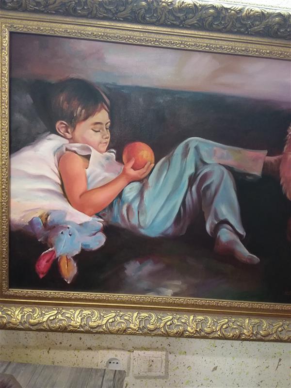 هنر نقاشی و گرافیک محفل نقاشی و گرافیک حسین خیرآبادی رنگ روغن روی بوم  مجسمه سازی# نقش برجسته#نقاشی#طراحی#