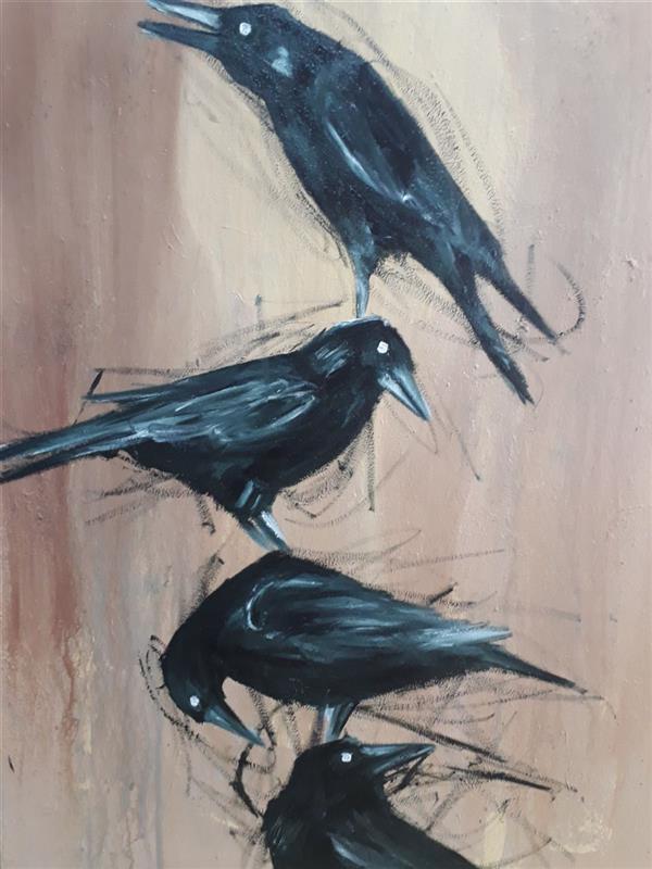 هنر نقاشی و گرافیک محفل نقاشی و گرافیک Zeynab zibaei نقاشی_رنگ_روغن_روی_بوم ابعاد ۵۰*۷۰