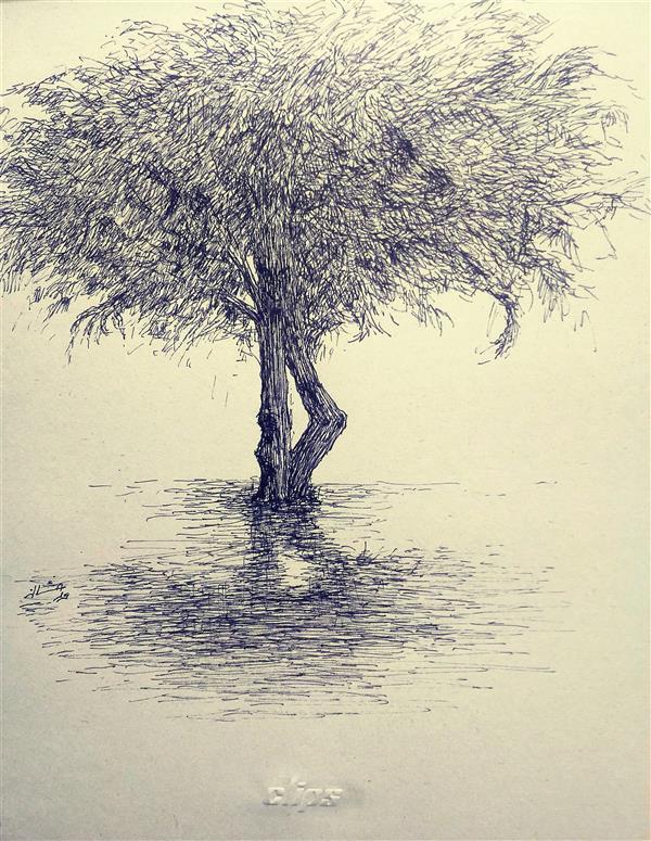 هنر نقاشی و گرافیک محفل نقاشی و گرافیک ab-derakhshan #راپید #1399 #کهن دیاران