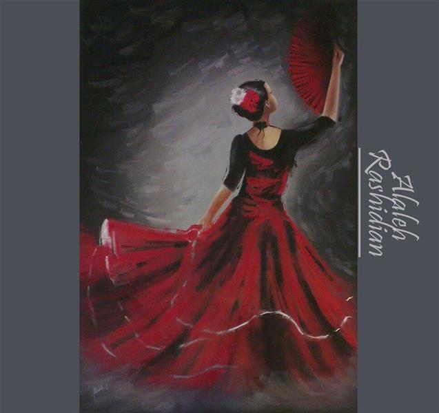 هنر نقاشی و گرافیک محفل نقاشی و گرافیک Alaleh Rashidian  تکنیک پاستل گچى ابعاد ١٠٠*٧٠