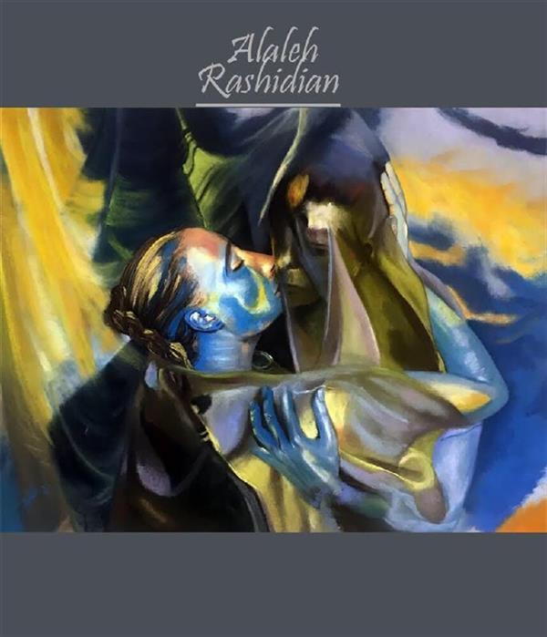 هنر نقاشی و گرافیک محفل نقاشی و گرافیک Alaleh Rashidian  تکنیک پاستل گچى ابعاد ٧٠*٥٧