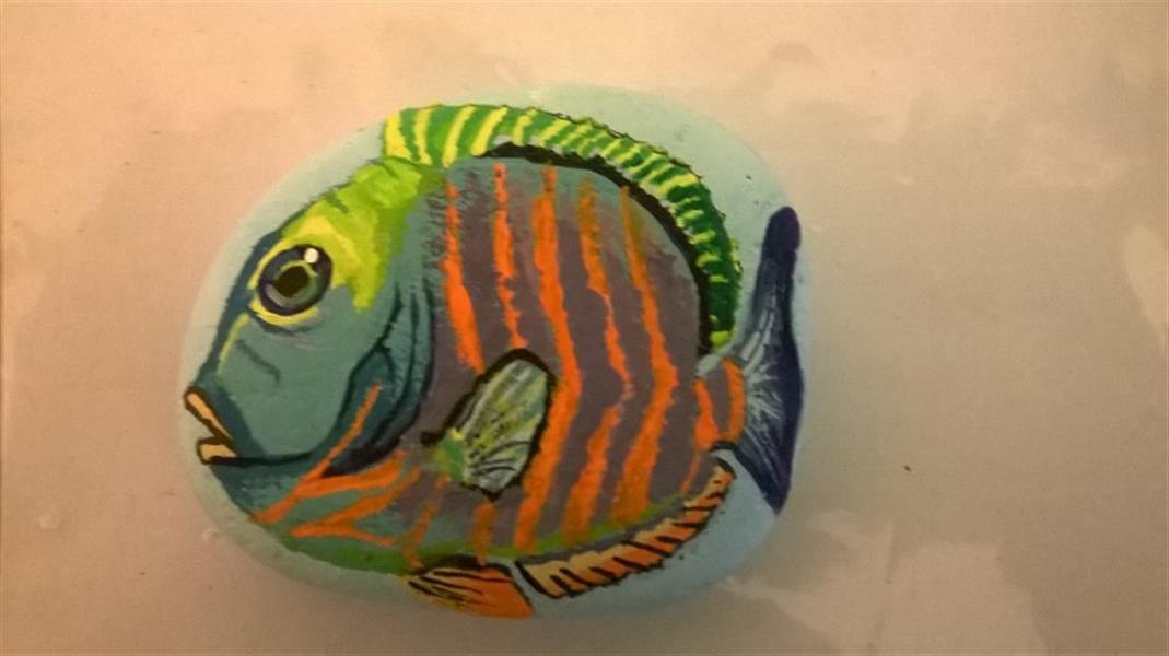 هنر نقاشی و گرافیک محفل نقاشی و گرافیک Rock painting آموزش و قبول سفارش انواع نقاشی سنگ