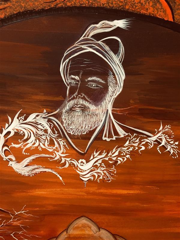 هنر نقاشی و گرافیک محفل نقاشی و گرافیک شهین قیدر شاداتى نام اثر :#عشق آفرینان #چو #ایران نباشد تن من مباد #بدین بوم و بر زنده یک تن مباد تکنیک:#مینیاتور #مدرن