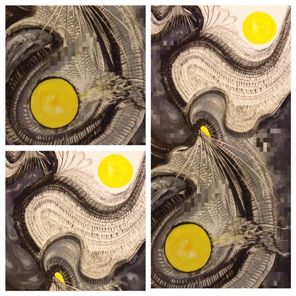 هنر نقاشی و گرافیک محفل نقاشی و گرافیک شهین قیدر شاداتى عنوان اثر:#نور سایز :۳۰/۶۰ دوقطعه #پازلی لمینیت شده تکنیک :گواش و آبرنگ متریال : گلاسه شاسی شده روی mdf از #مجموعه #گنج #سفر