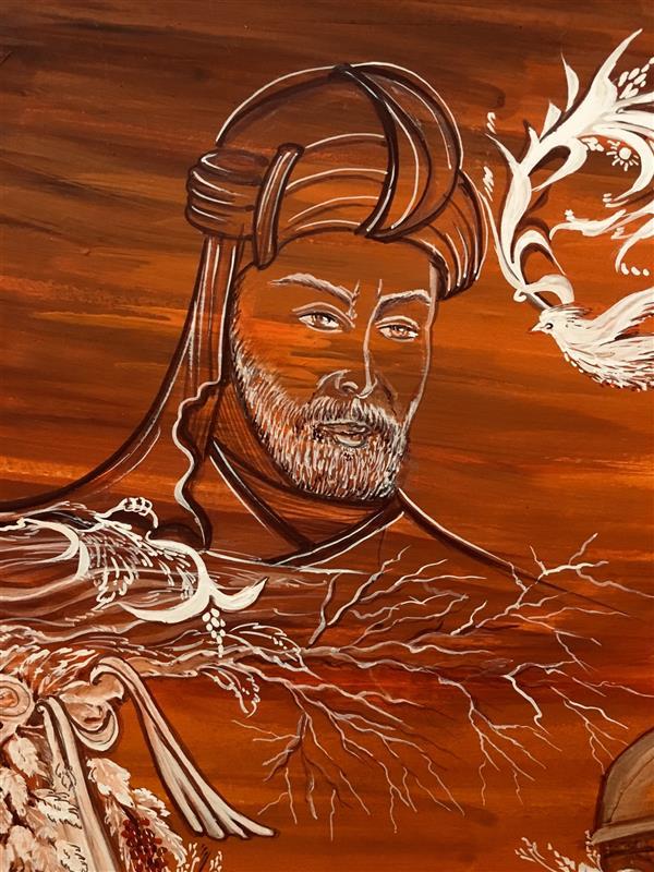 هنر نقاشی و گرافیک محفل نقاشی و گرافیک شهین قیدر شاداتى نام اثر: #عشق آفرینان #ای نام تو بهترین # سرآغاز #بی نام تو نامه کی کنم باز #نظامی