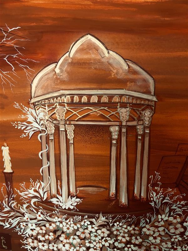 هنر نقاشی و گرافیک محفل نقاشی و گرافیک شهین قیدر شاداتى نام اثر # عشق آفرینان ای#حافظ شیرازی تو محرم #رازی #کمتراز #ذره نیست پست مشو #تا به خلوتگه #خورشید رسی#چرخ زنان