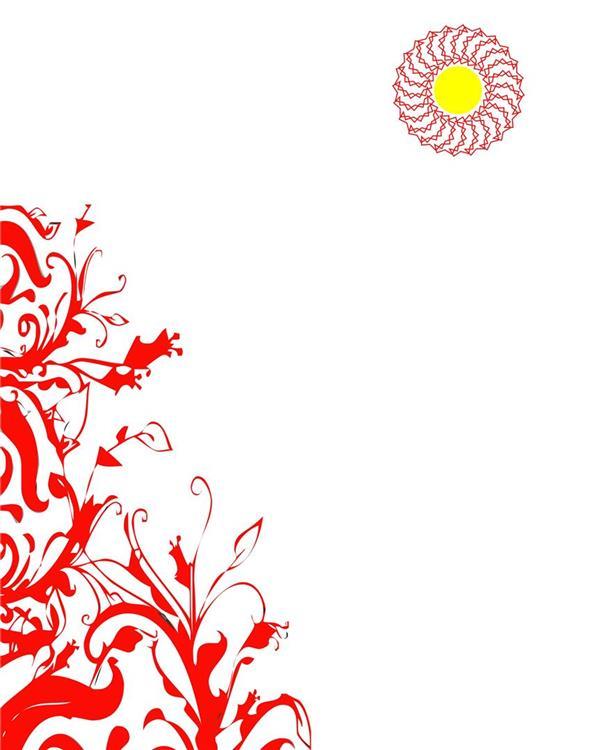 هنر نقاشی و گرافیک محفل نقاشی و گرافیک سام کاویانی از مجموعه آفتاب تکنیک چاپ سیلک و گواش