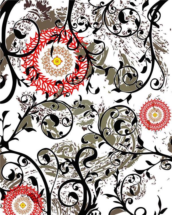 هنر نقاشی و گرافیک محفل نقاشی و گرافیک سام کاویانی از مجموعه آفتاب چاپ سیلک و گواش
